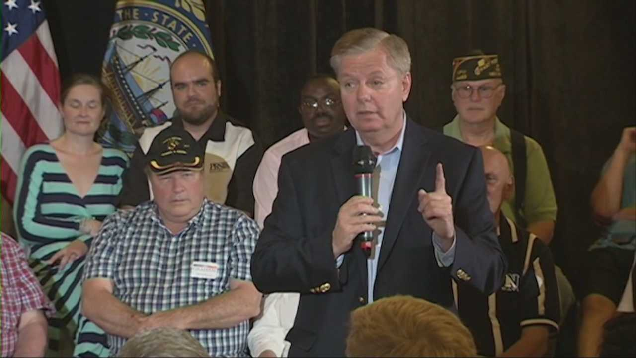 Republican Sen. Lindsey Graham says he's confident he can win presidential primaries in New Hampshire and his home state of South Carolina, two of the first voting states in the nomination contest.