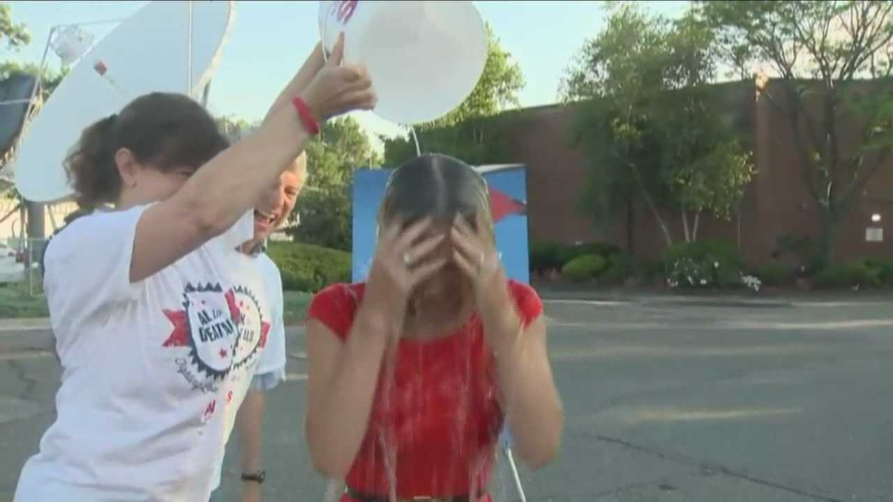 It is year two of the #IceBucketChallenge.  NewsCenter 5 EyeOpener's Erika Tarantal helps the cause.