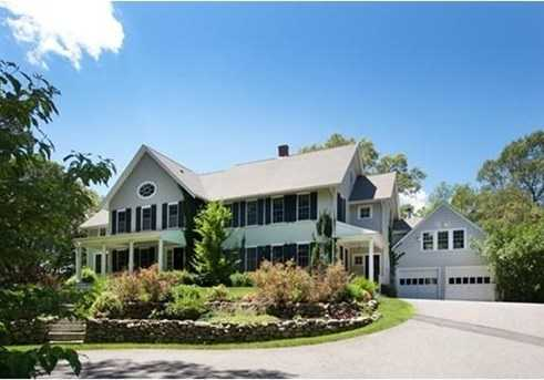 Spectacularly renovated colonial on 3.44 acres of gorgeous landscaped grounds.