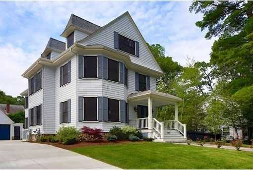 242 Waban Ave is on the market in Newton for $2.9 million.