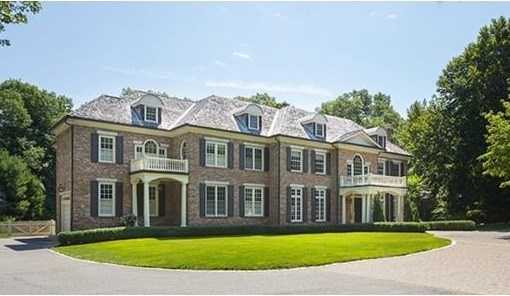 41 Skating Pond Road is on the market in Weston for $5.99 million.