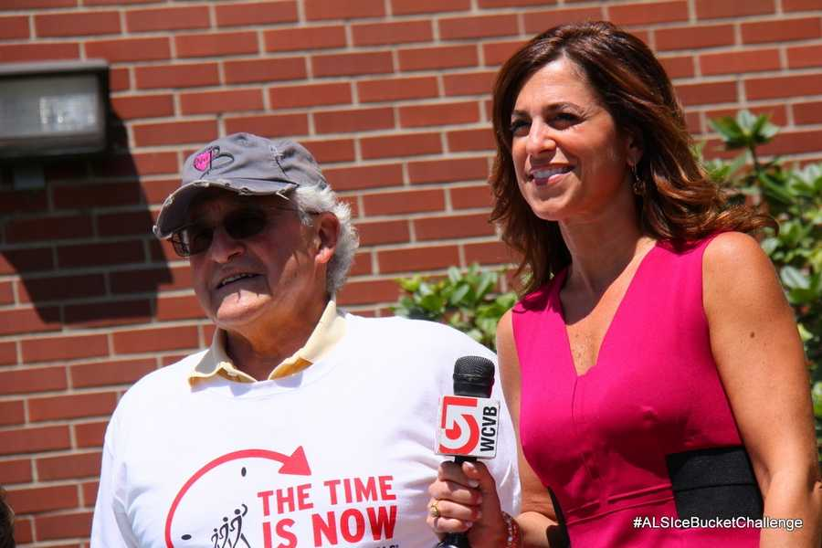 Cindy Fitzgibbon speaks with Octavio Bolognese, whose wife was diagnosed with ALS in September 2013.