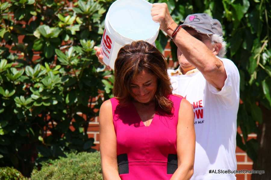 Watch Cindy Fitzgibbon take the challenge! Click here for more information about the #ALSIceBucketChallenge and how to donate.