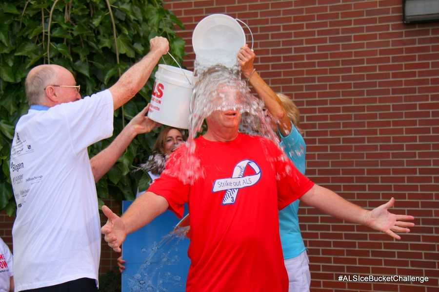 Click here for more information about the #ALSIceBucketChallenge and how to donate.