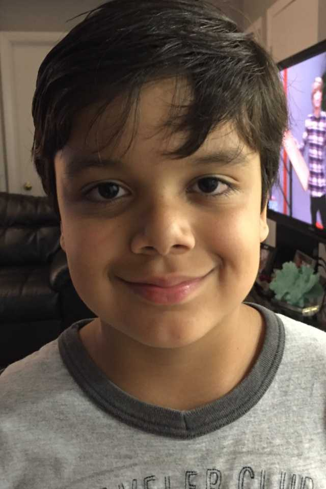 Nathan Portela Coelho, 8, is about 4 feet, 8 inches tall and has brown hair and brown eyes. He was last seen wearing blue shorts and a blue shirt.