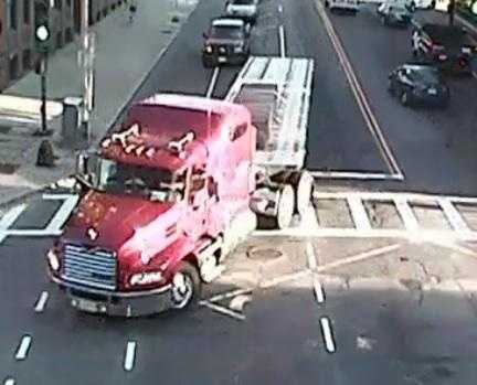 A woman riding her bicycle was killed in a Back Bay crash Friday morning.