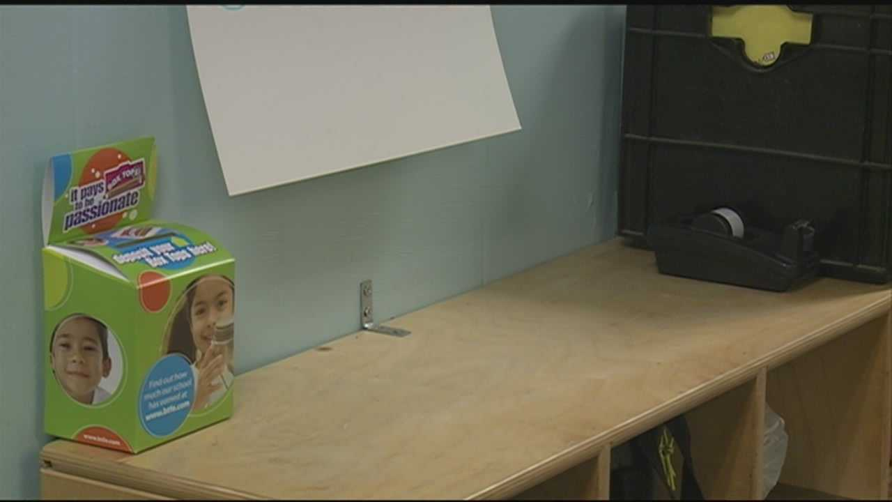 Police are investigating the theft of a coin jar from a preschool in Hampton.