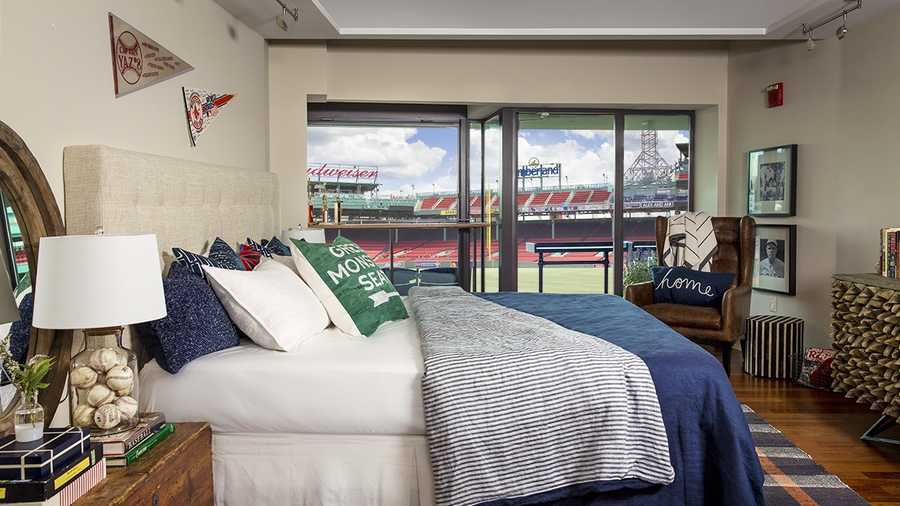 Red Sox fans have chance to sleep in Fenway Park suite. Red Sox fans have chance to sleep in Fenway suite