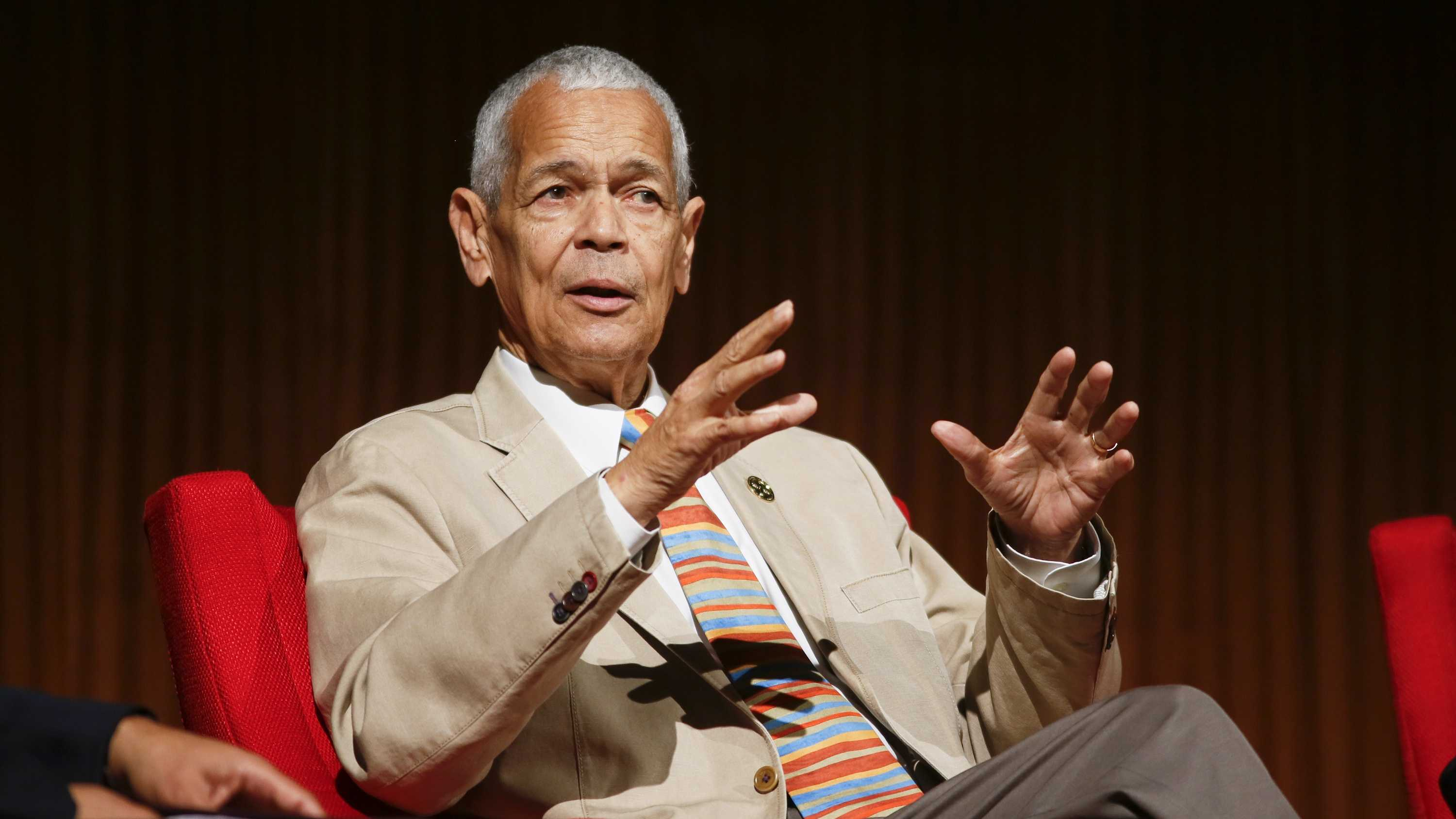 Julian Bond was a civil rights activist and longtime board chairman of the NAACP. Bond was considered a symbol and icon of the 1960s civil rights movement. As a Morehouse College student, Bond helped found the Student Non-Violent Coordinating Committee and was on the front lines of protests that led to the nation's landmark civil rights laws. (January 14, 1940 – August 15, 2015)