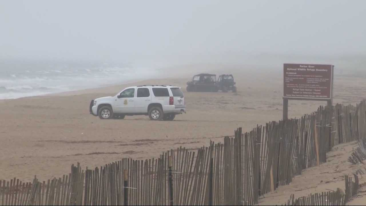 The body of an adult female was discovered on Plum Island on Sunday morning.