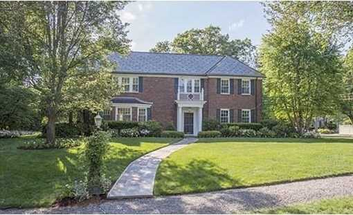 107 Dartmouth Street is on the market in Newton for $3.6 million.