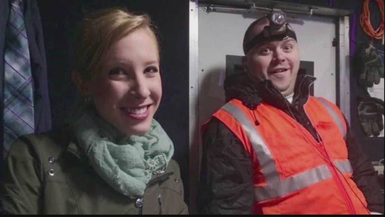 WDBJ reporter Alison Parker and photographer Adam Ward