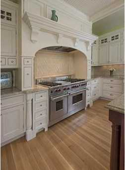 Gourmet chef kitchen with large ctr island, dining area/bay window & pantry