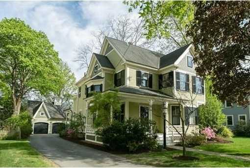 25 Everett St. is on the market in Concord for $2.1 million.