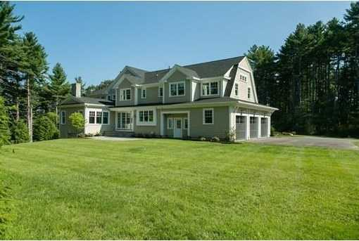 Prominently sited in a peaceful, country setting, this newly-built Shingle-Style Colonial features 13 generous rooms, 6 bedrooms, 6 full and 2 half baths, plus a finished W-O lower level.