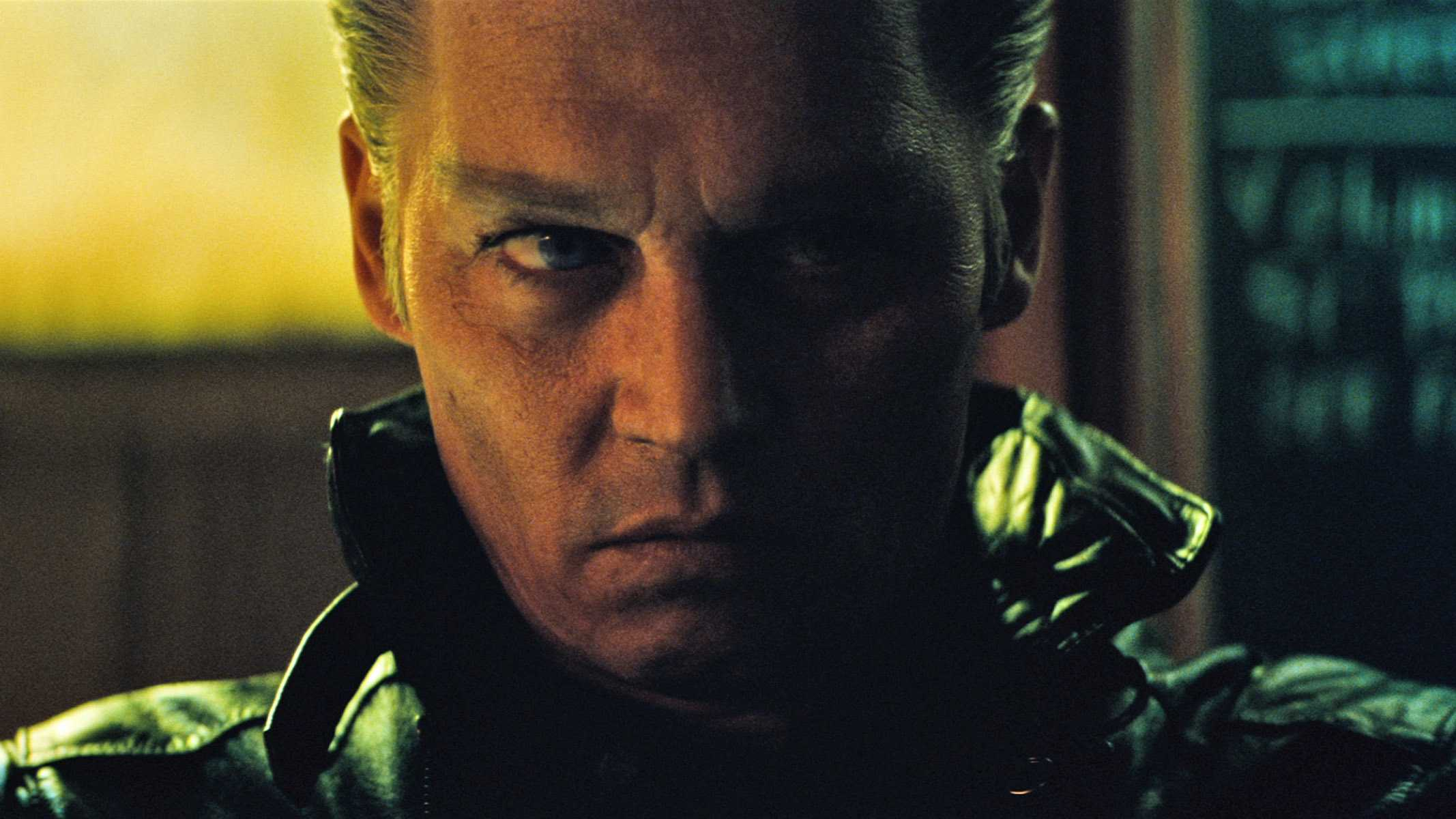 "JOHNNY DEPP as Whitey Bulger in the drama ""BLACK MASS,"" a presentation of Warner Bros. Pictures in association with Cross Creek Pictures and RatPac-Dune Entertainment, released by Warner Bros. Pictures."