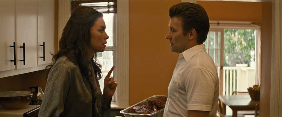 "(L-r) JULIANNE NICHOLSON as Marianne Connolly and JOEL EDGERTON as John Connolly in the drama ""BLACK MASS,"" a presentation of Warner Bros. Pictures in association with Cross Creek Pictures and RatPac-Dune Entertainment, released by Warner Bros. Pictures."