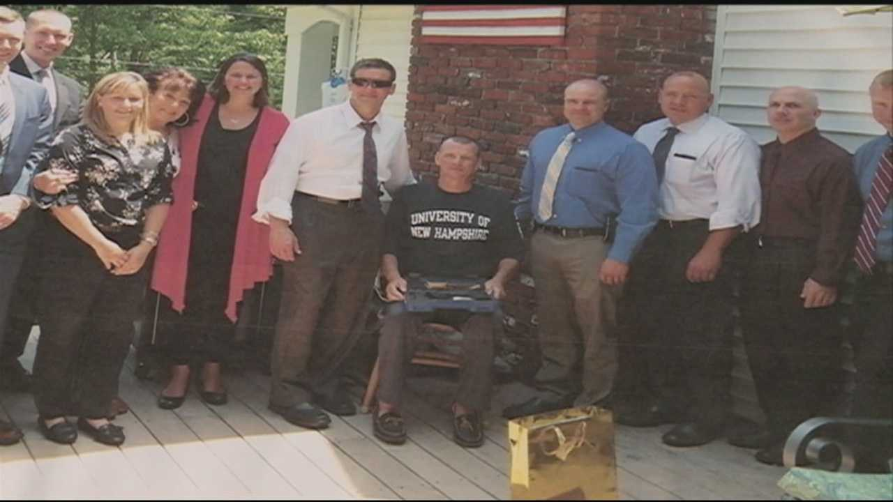 The Bedford community raises funds for a local state trooper fighting cancer.