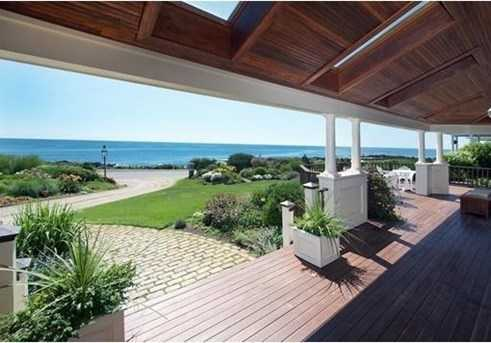 Take in all of the Back Shore from your 550SF roof deck.