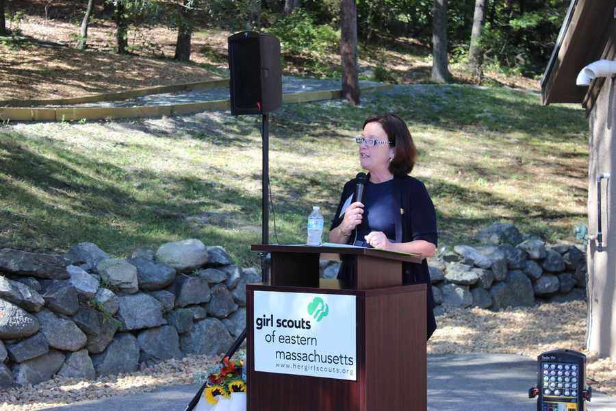 Girl Scouts of Eastern Massachusetts CEO Patricia Parcellin.