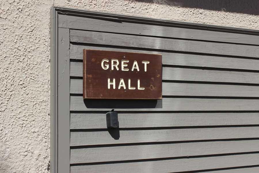 Great Hall at Camp Cedar Hill in Waltham.