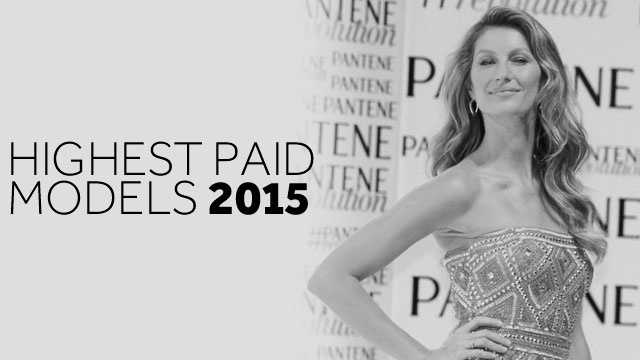Forbes has tabulated the 2015 list of the highest paid models in the world, see who ranks number one in this slideshow. Note: earnings are from June 2014 to June 2015 and are pre-taxes and expenses.