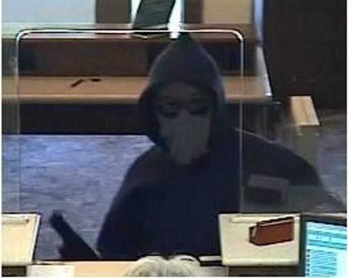 A man walked into the Citizens Bank on Russell street in Woburn on Sept. 5 at 12:35 p.m., brandished a semi-automatic handgun and demanded cash, officials said.