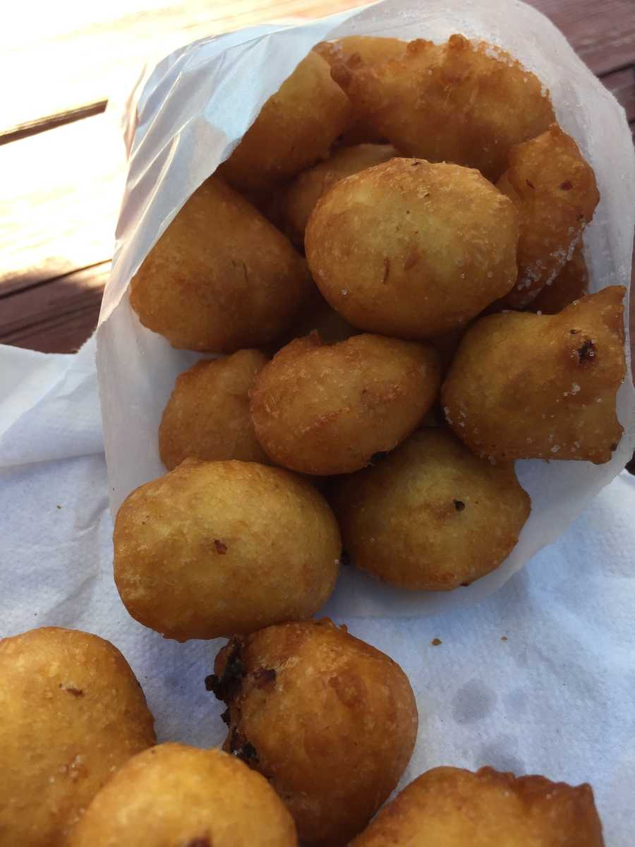 Rhode Island Clam Fritters