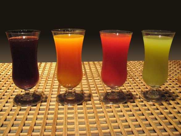 12.) Juice drinks