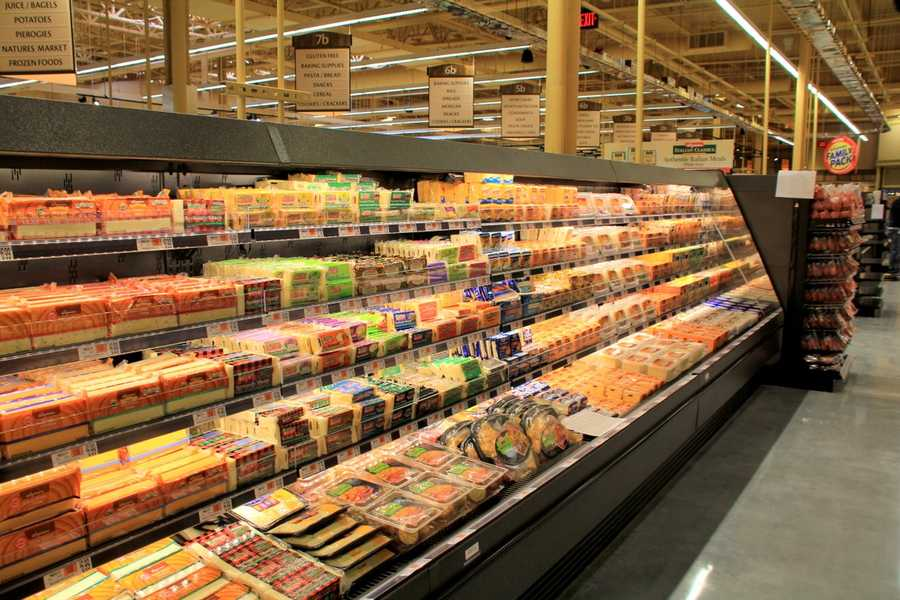 A closer look at the dairy & refrigerated foods department.