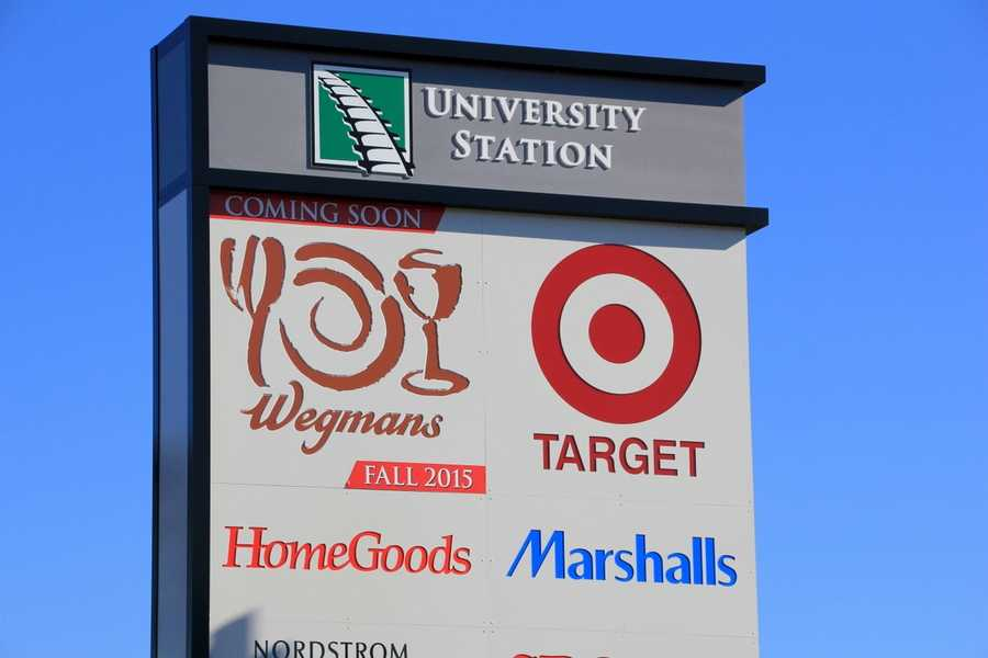 The Wegmans store at University Station is scheduled to open Sunday, October 11 at 7 a.m.