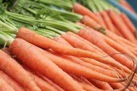 Carrots also have the high water content that stimulates saliva production.
