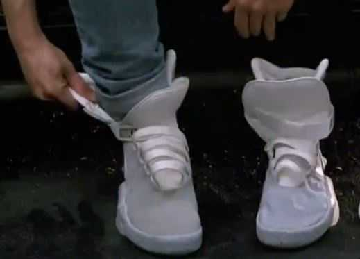 Self-lacing shoes.