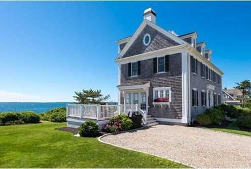 Gorgeous Nantucket style colonial with direct oceanfront location on Vineyard Sound.