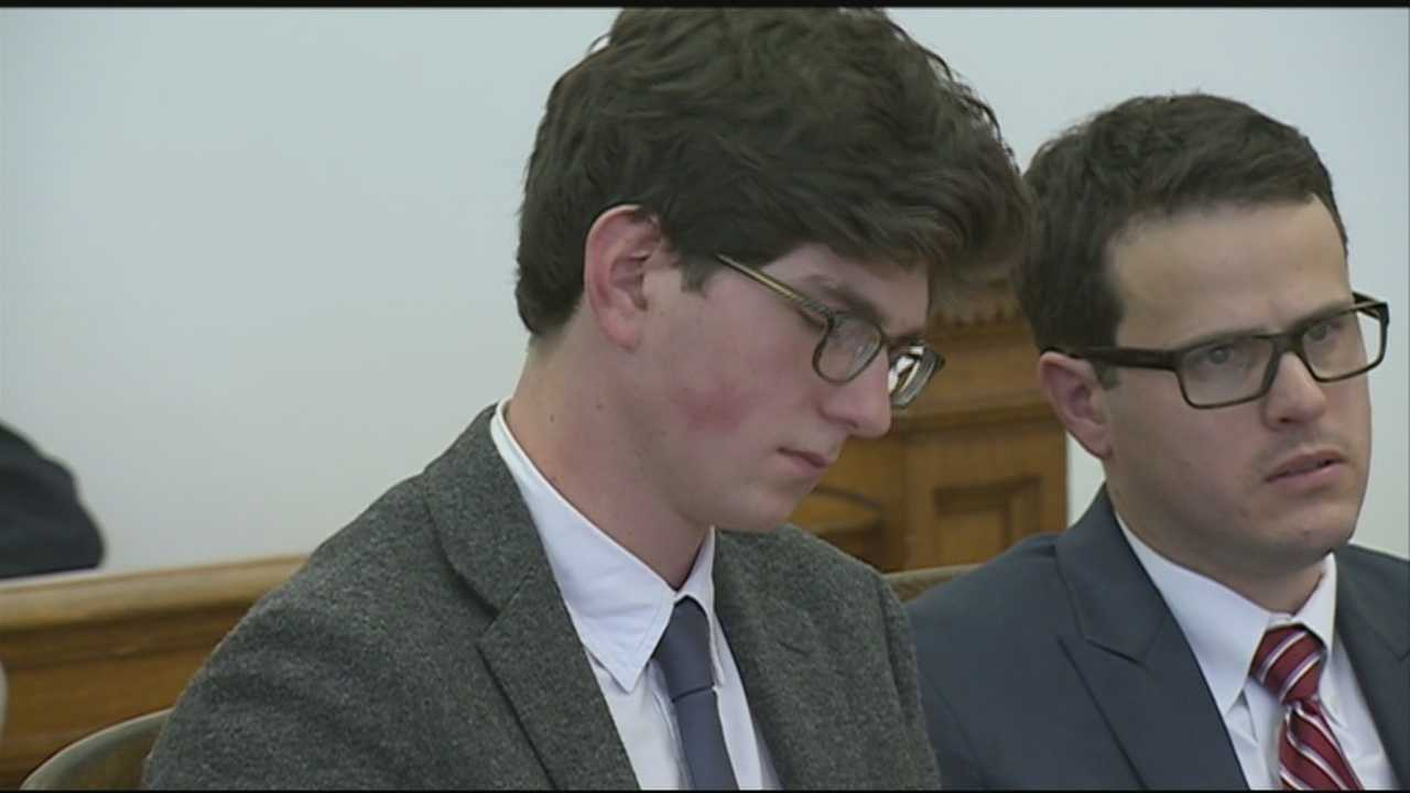 Judge sentences Owen Labrie to one year in jail.