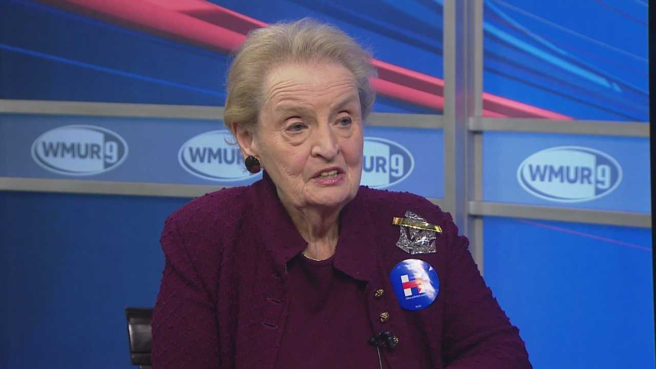 Former Secretary of State Madeleine Albright sites down with Josh McElveen on CloseUP.