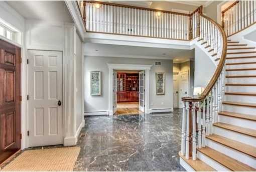 With 5,500 SF. of living area plus 1,700 SF of finished space in the Lower Level, you'll enjoy 6 Bedrooms and & 7 full Baths, including In-law suite & 3rd floor retreat.