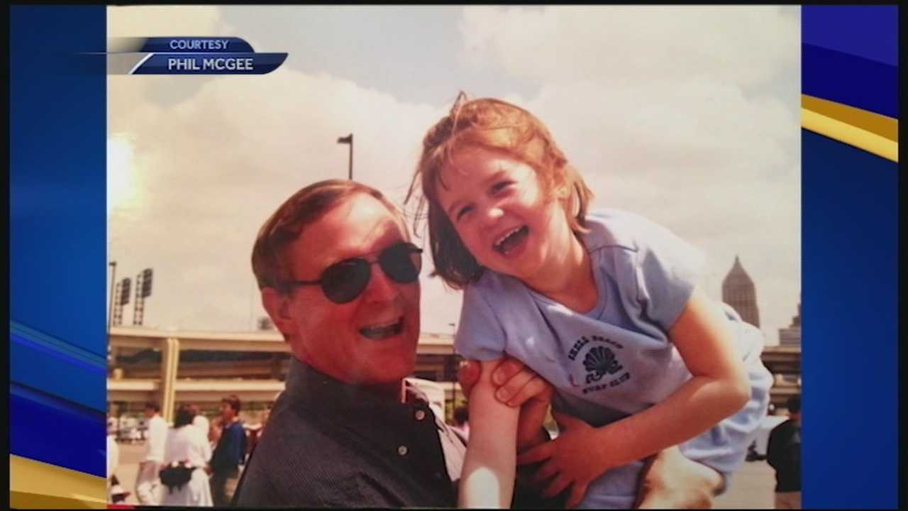 Family members say 57-year-old Brad McGee of Rye was the pilot killed in a small plane crash off New York on Wednesday