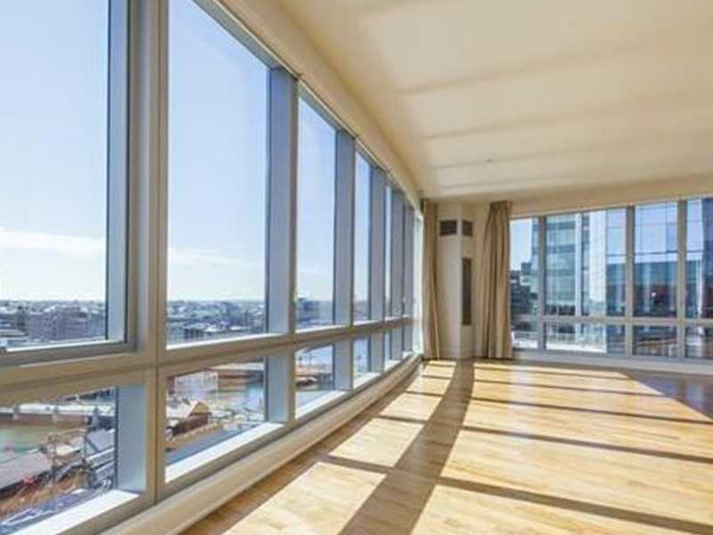 8.) The Residences at The InterContinental. $17,000 per month. 3 bedrooms, 4 full baths, 1 half bath. 500 Atlantic Avenue Unit 14K. Click here.