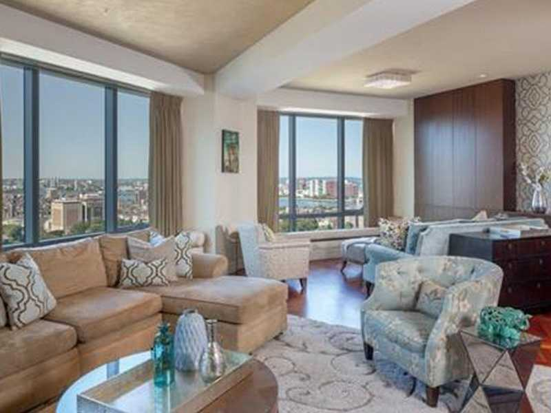 5.) Ritz-Carlton Residences, Apt 27C. $20,000 per month. 3 bedrooms, 3 full baths, 1 half bath. 2 Avery St. Apt. 27C Click here.