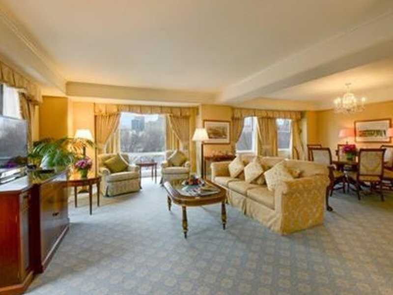 1.) Taj Boston, The Presidential Suite. $75,000 per month. 1 bedroom, 1 full bathroom, 1 half bathroom. 15 Arlington St. Unit #PS. Click here.