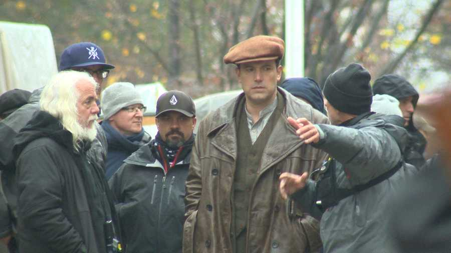 Ben Affleck is back in the Bay State shooting a new movie in Lawrence.