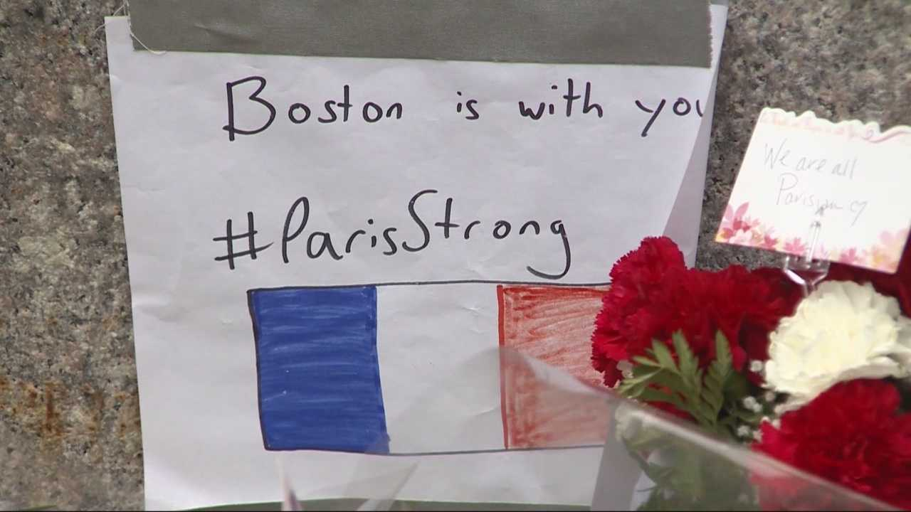 Boston's professional sports teams were put on heightened alert Friday night following the series of attacks in Paris.  Massachusetts State Police also increased security at the Massachusetts Statehouse and other locations in Boston.