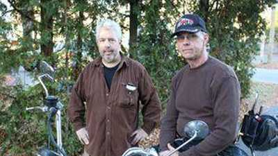 Tim Sparks and Mike Wallace share a love of motorcycles, a passion that drew Sparks to want to help Wallace, a stranger who needs a kidney transplant.