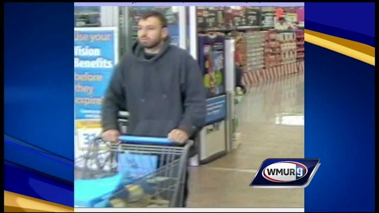 Police said they're looking for a man who stole thousands of dollars of baby formula from Walmart stores in Laconia and Tilton.