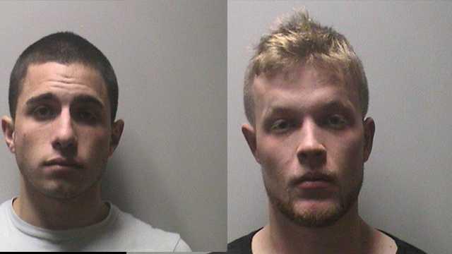 Anthony Ferratusco (left), Brendan Donovan (right)