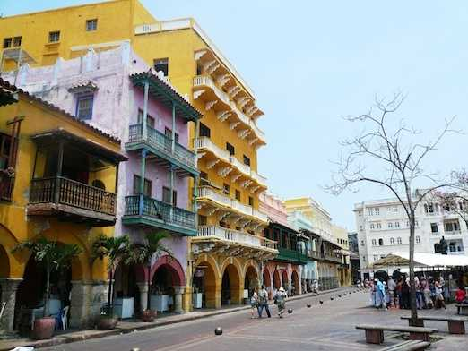 2.) Cartagena, Colombia