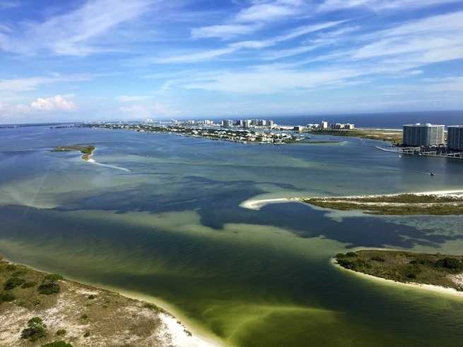 2.) Orange Beach, Alabama. Located on the sun-kissed shores of the Gulf of Mexico, Orange Beach is a great location for travelers seeking rest and relaxation.