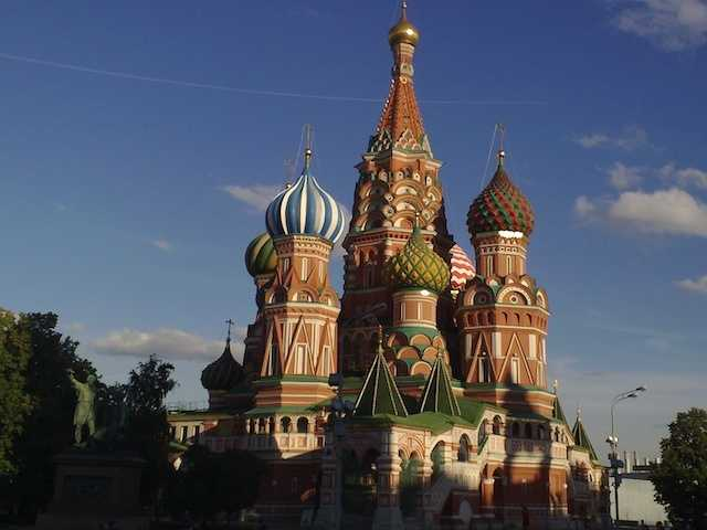 5.) Moscow, Russia