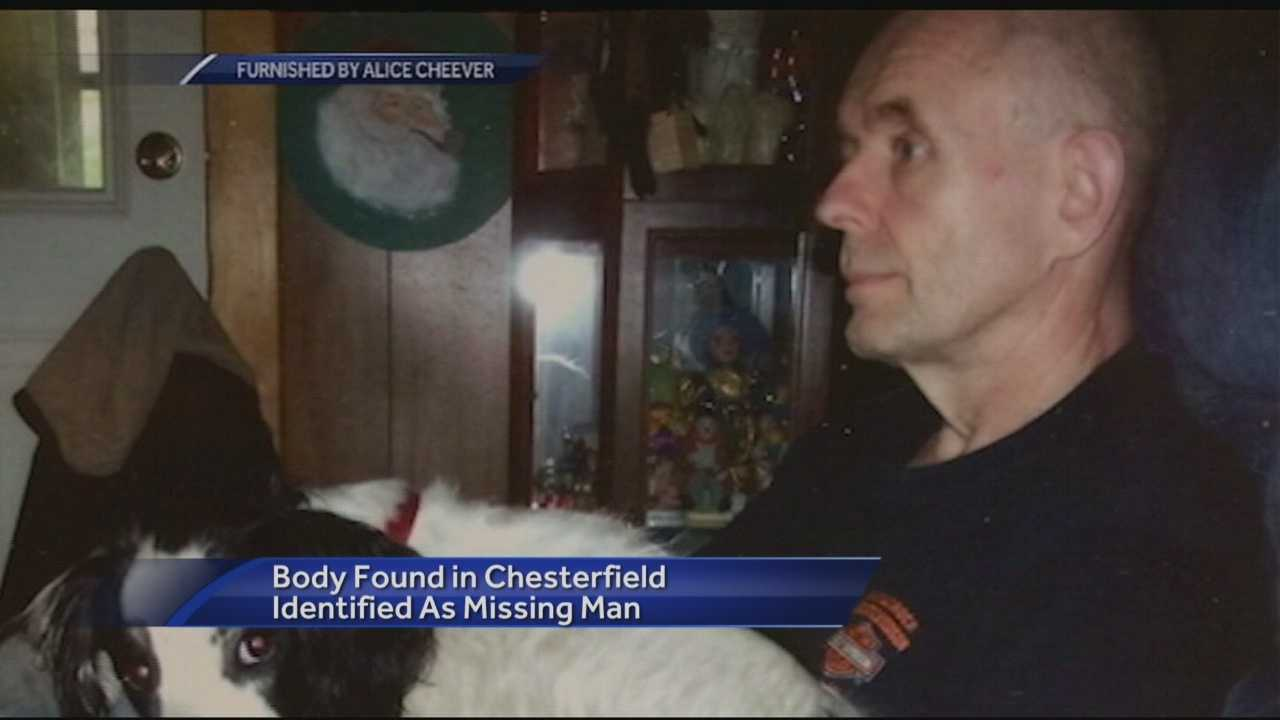 The body of Chesterfield man who went missing in 2014 was found last week.